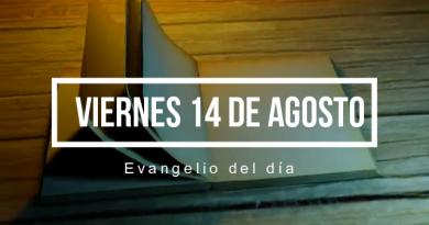 VIERNES 14 DE AGOSTO DEL 2020 – Lectura del Evangelio del día