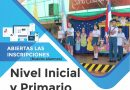 Abiertas las Inscripciones (Nuevos alumnos) Nivel Inicial y Primario