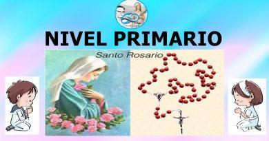 NIVEL PRIMARIO – Octubre es el Mes del Rosario y la familia