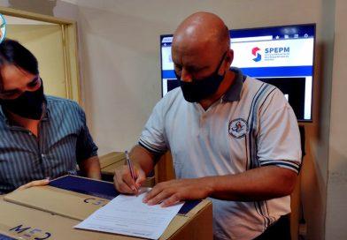 El Instituto agradece a las autoridades del Servicio Provincial de Enseñanza Privada de Misiones
